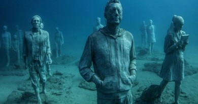 Europe's first underwater museum in Lanzarote - Museo Atlantico