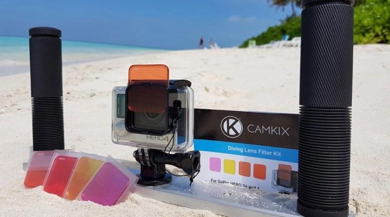 GoPro red filter - Camkix diving lens kit Review
