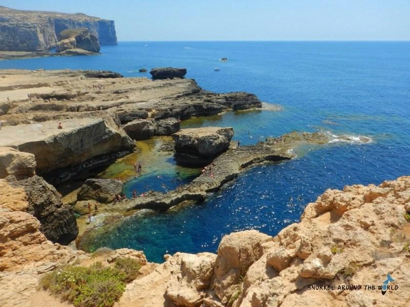 Blue Hole Gozo - Malta Snorkeling