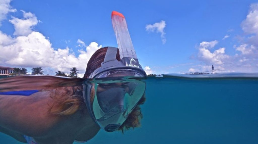 full face snorkel mask by mares