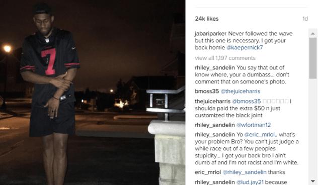 Jabari Parker Defends Colin Kaepernick