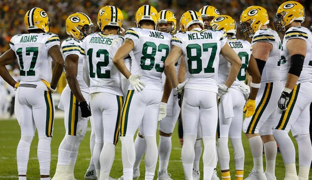 reputable site 67724 eaf25 JERSEY GRADES: Packers Color Rush — SnoTapWI