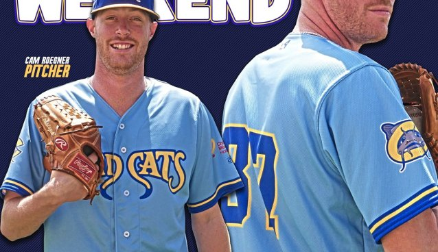 separation shoes 269a1 5ef08 Carolina Mudcats 'Brewers Weekend' Jerseys are Flames — SnoTapWI