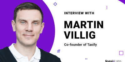 Taxify Co-founder Martin Villig