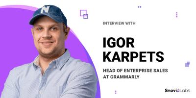 Grammarly - Igor Karpets