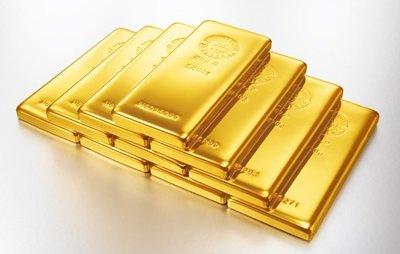 金のインゴット写真