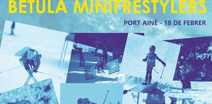 Mini freestylers tour. Port Ainé 18 de Febrero