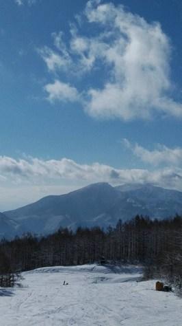 グランデコ 磐梯山