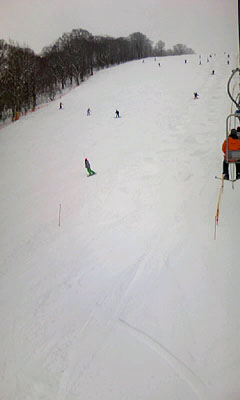 4月猫魔スキー場