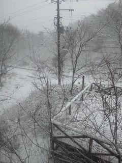 裏磐梯五色沼積雪情報