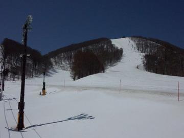 裏磐梯猫魔スキー場4月9日