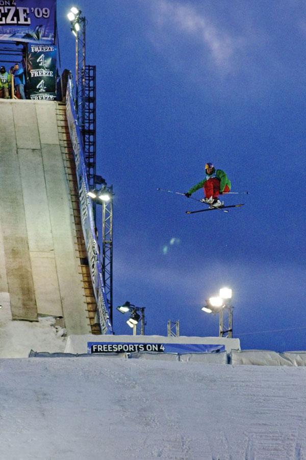 Russ Henshaw wins London Freeze Big Air