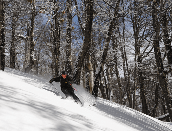 You don't have to ski at Tomi's level to have fun in here though © Michael Brill