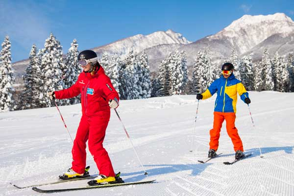 There are plenty of flat learner runs on the lower slopes