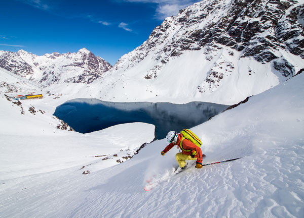 skiing Portillo