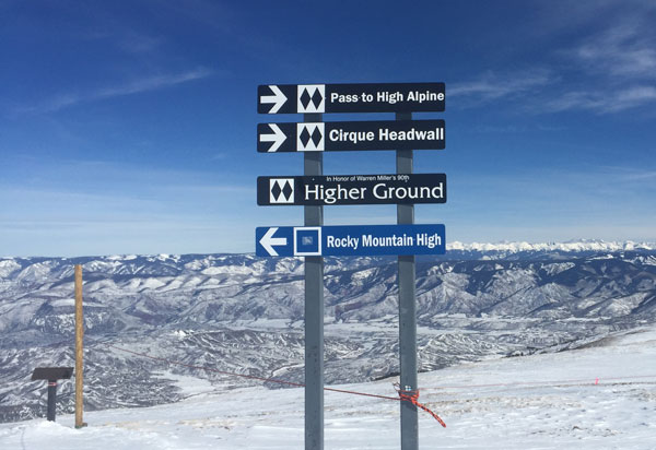 For a change of pace from cruising Snowmass has plenty of options