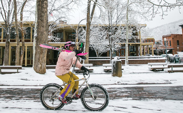 On your bike to Aspen, and no, that's not our Doc © Aspen