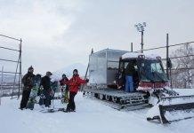 Chisenupuri cat skiing