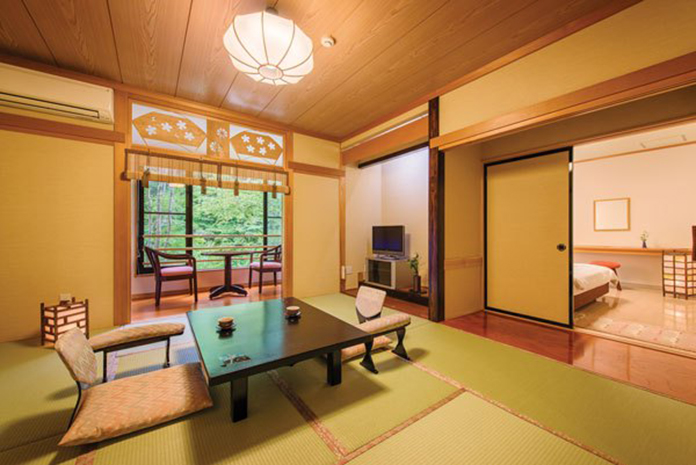 Semi Onsen rooms