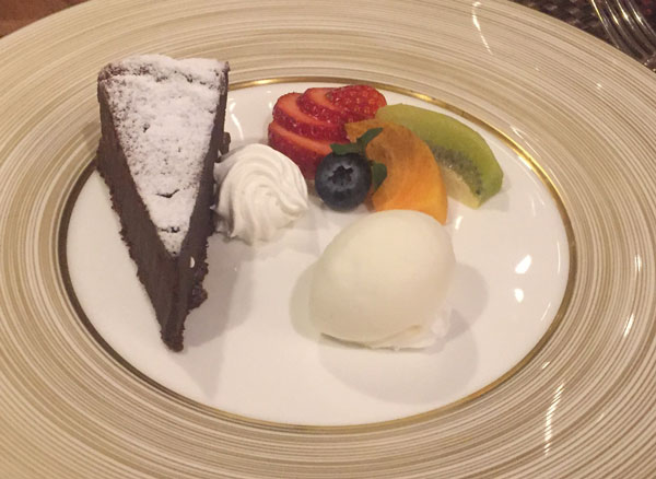 dessert at Shizukuishi