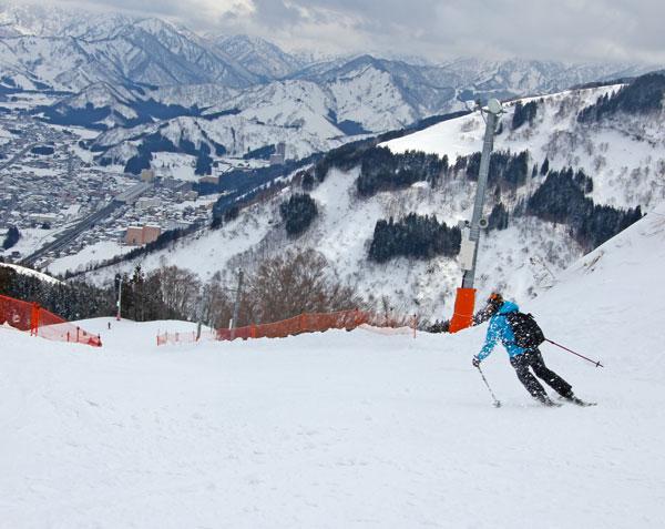 Gala Yuzawa Falcon Downhill course