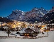 Grindelwald at night