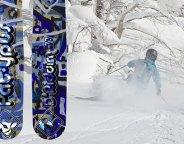 Fat-ypus D'rddim skiing Niseko