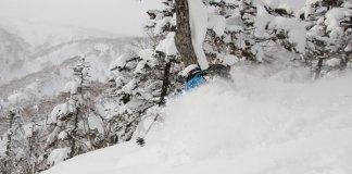 deep snow at Kokusai