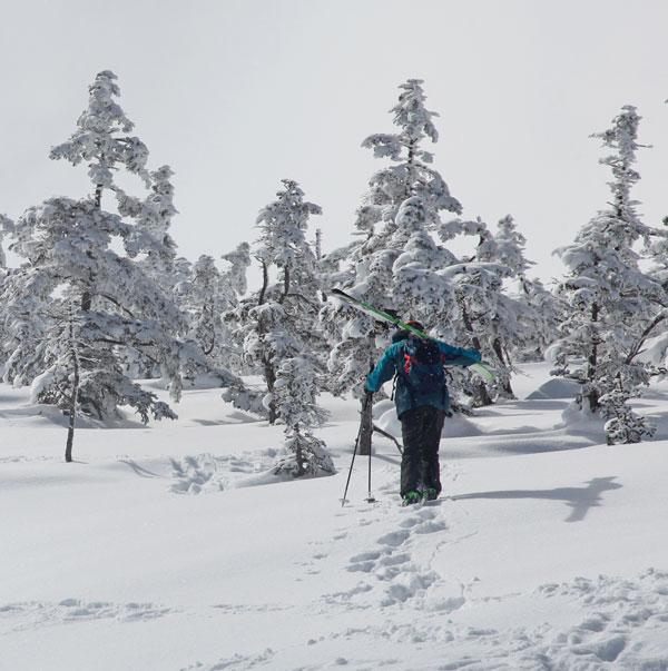 hiking Naeba Kagura
