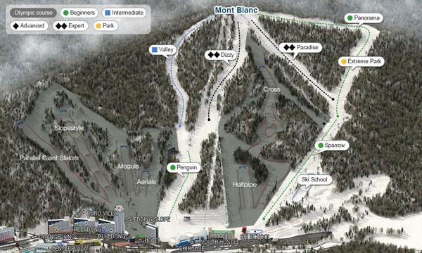 Phoenix Park trail map