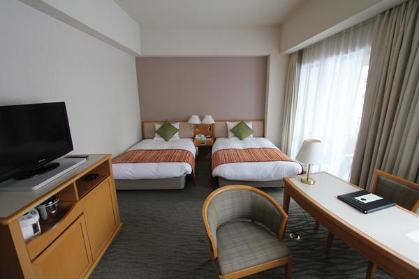 spacious rooms at Urabandai Grandeco Tokyu Hotel