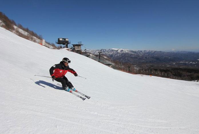 Skiing at Kusatsu