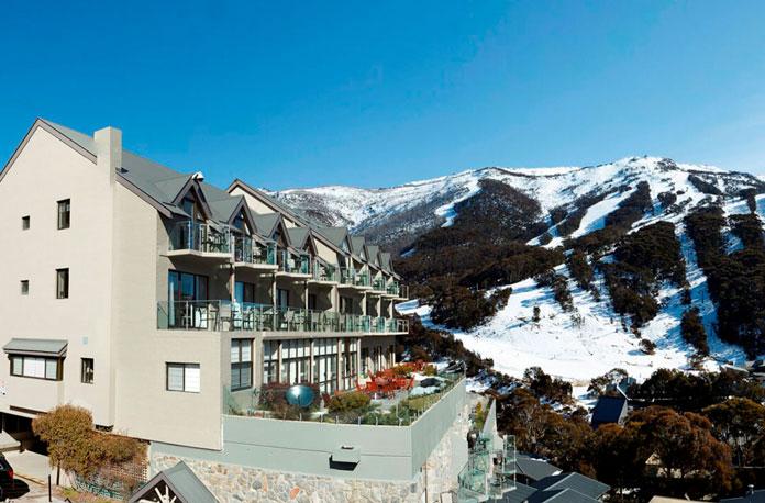 The Lantern Apartments enjoy the best views over Thredbo