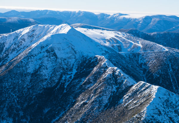 View of Mt Buller