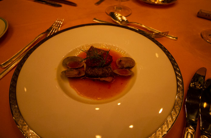 Fine dining French at East Hotel