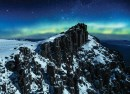 Wild Tasmania skiing sometimes shows you the Aurora Australia