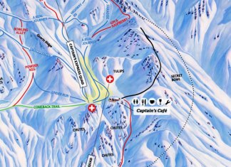 Cardrona 2019 Trail Map