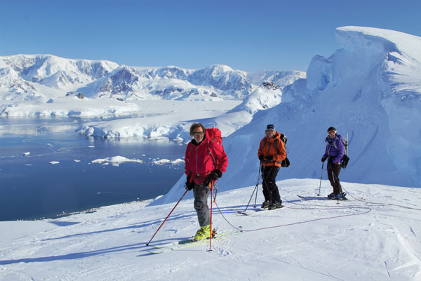 Ski Antarctica for great views