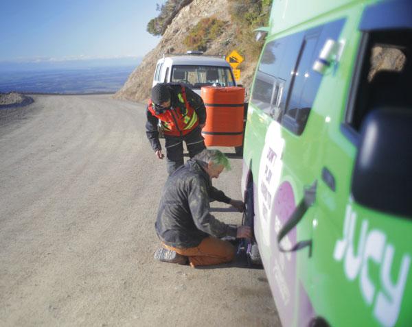 Mt Hutt road