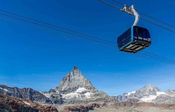 The new Matterhorn Glacier Ride at Zermatt