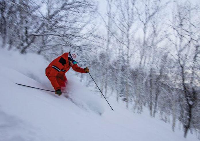 Fresh snow Sahoro
