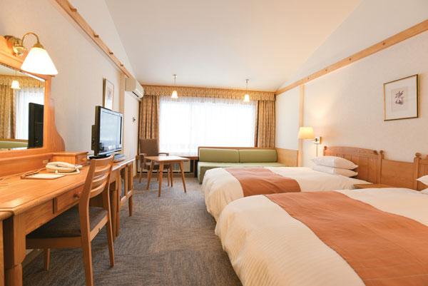 Sahoro Resort Hotel room
