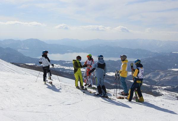 Racers at Tazawako