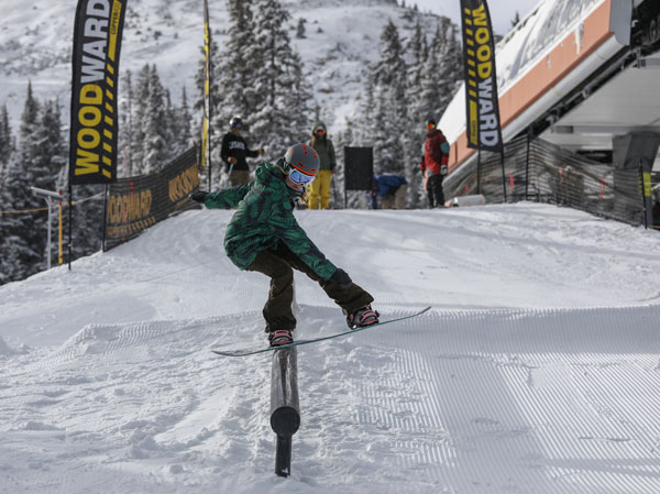 Copper Mountain terrain parks