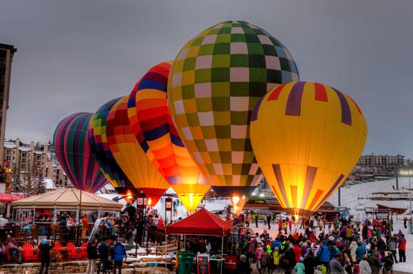 Steamboat balloon festival