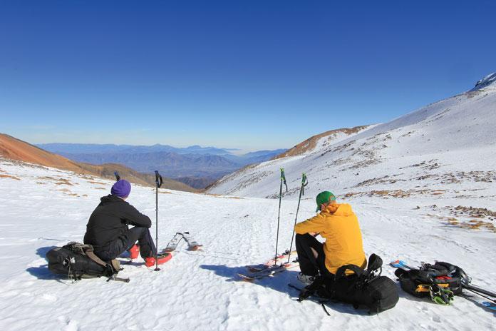 View at Ski Arpa