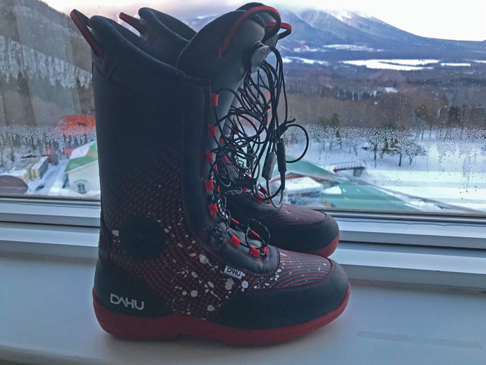 Dahu ski boot inners can be worn inside your hotel