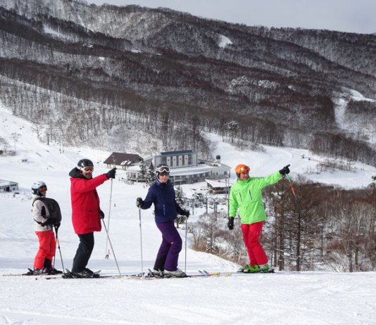 Action Snow Sports family at Madarao