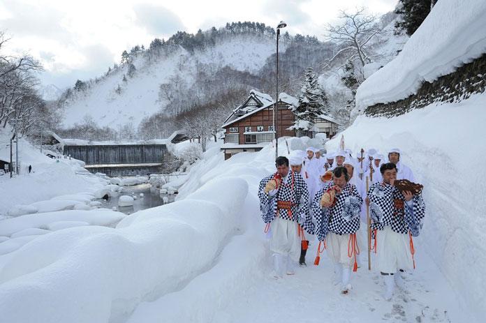 Winter wonderland in Shonai