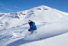 Powder skiing Valle Nevado